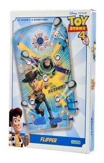 Juego De Mesa Flipper Grande Toy Story 4 Original Ditoys Cuo