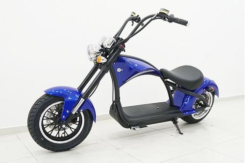 Moto Elétrica Jdc 0km Azul Pronta Entrega