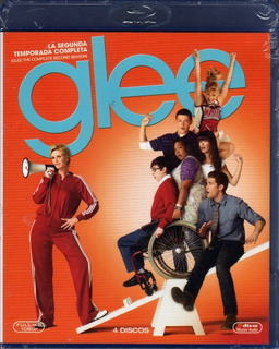 Glee - Temporada 2 / 4 Blurays Originales Nuevo Sellado