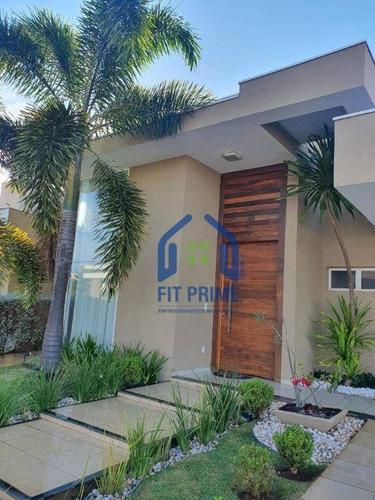 Casa Com 3 Dormitórios À Venda, 265 M² Por R$ 1.200.000 - Parque Residencial Damha Vi - São José Do Rio Preto/sp - Ca2635