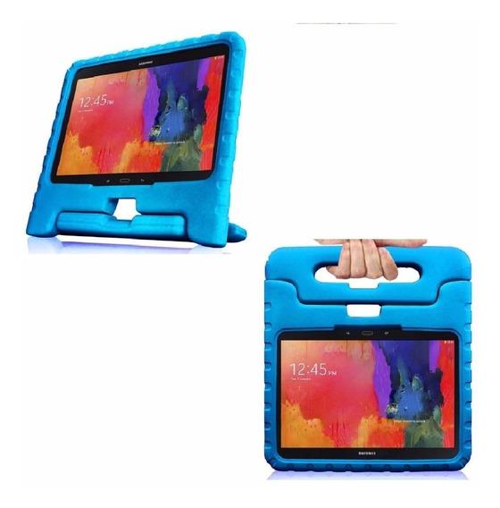 Capa Case Criança Kids Galaxy Tab E 9.6 Azul