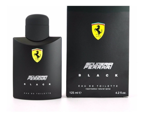Perfume Importado Ferrari Black 125 Ml. Lacrado E Original.