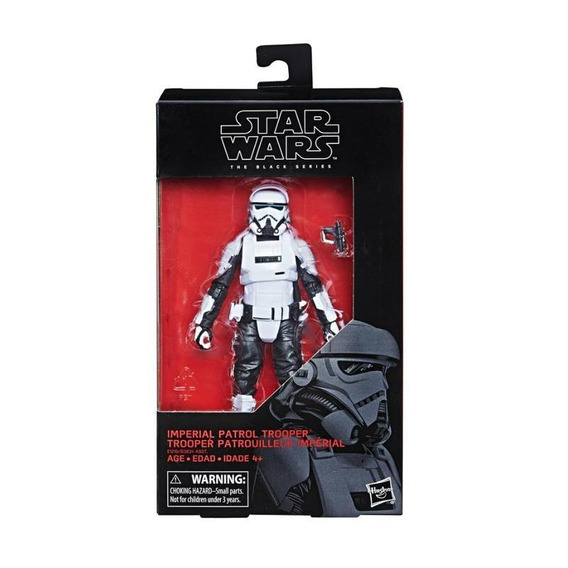 Figura Imperial Patrol Trooper 6 Pulgadas The Black Series S