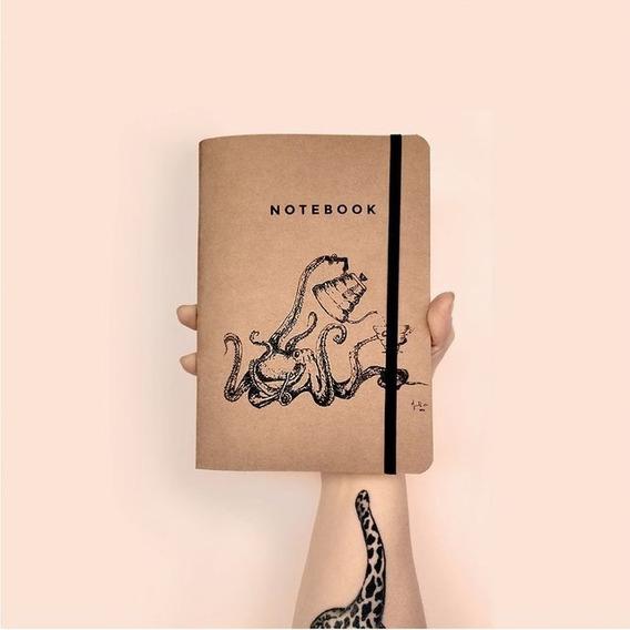 Libreta Grande Notebook A5 Barista