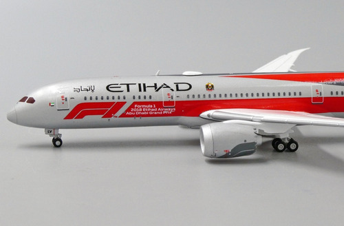 Miniatura Avião Jc Wings 1:400 Etihad Airways Boeing B 787-9