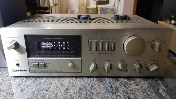Amplificador Gradiente Mod 366 Revisado 100%