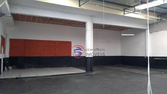 Galpão Para Venda E Locação, Campestre, Santo André Ga0082. - Ga0082