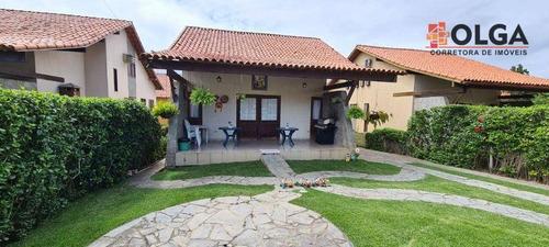Imagem 1 de 30 de Casa Em Condomínio Fechado, À Venda - Gravatá/pe - Vl0542