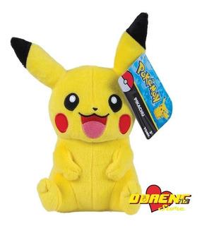 Peluche Pikachu Original De Tomy - Importado