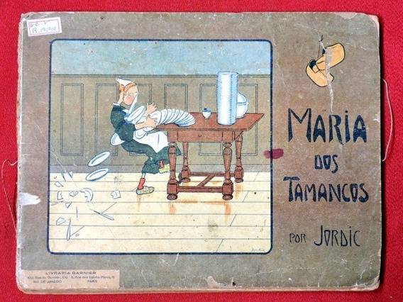 Maria Dos Tamancos Antigo Livro Infantil