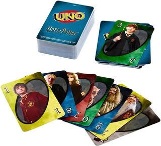 Uno Mattel Harry Potter Juego De Cartas
