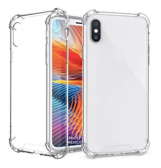 Funda iPhone Airbag Transparente 5|6|7|8|plus|x|xr|xs|max Y Mas