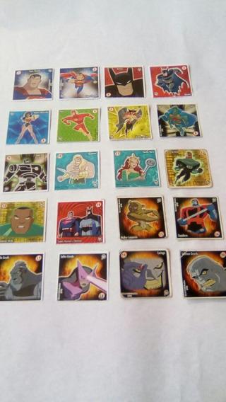 Elma Chips - Coleção Stamp Liga Da Justiça Completa 2003