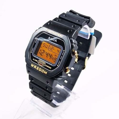 10 Relógio Masculino Digital Barato Aqua Prova D