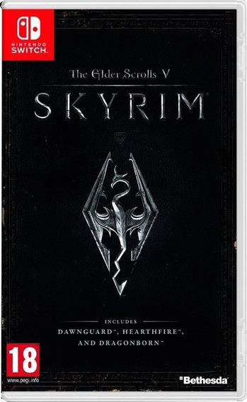 The Elder Scrolls V Skyrim - Nintendo Switch - Mídia Física