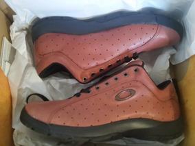 Zapatos Tenis Oakley Brown Talla 10,5 Usa 8.5 Mx