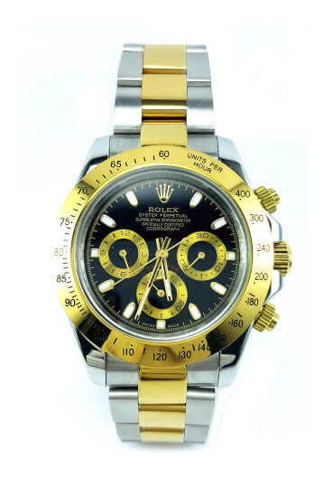 Relógio Masculino Suiço Daytona Dourado