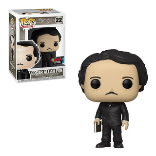 Funko Pop Icons Edgar Allan Poe 22 Nycc Exclusivo Original