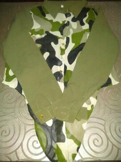 Camisa Estampada Talle 2