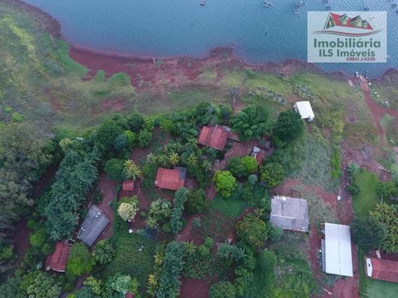Rancho Com 3 Dormitórios À Venda Por R$ 527.300 - Zona Rural - Paranaiguara/go - Ra0001