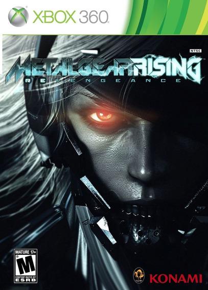 Metal Gear Rising Revengeance Lacrado Xbox 360 + Brinde