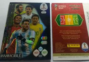 Card Copa 2018 468 Invincible Adrenalyn Panini