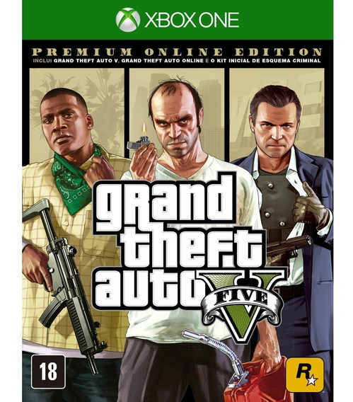 Grand Theft Auto V Premium Edition Xbox One ( Lacrado) Gta V