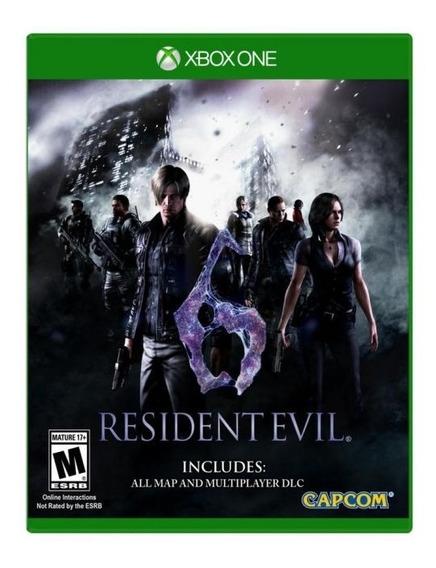 Jogo Xbox One Resident Evil 6 Mídia Física E Original