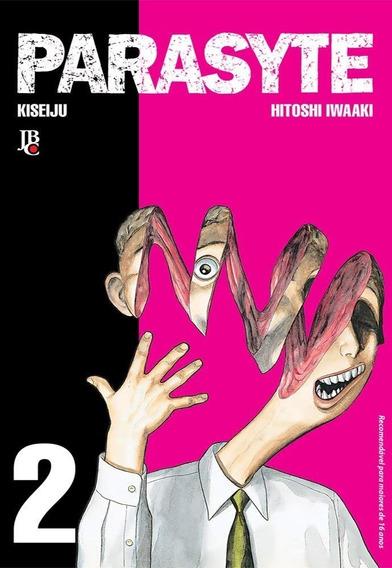Livro Manga Parasyte Jbc Hq Anime Sainem Afternoom Iwaaki