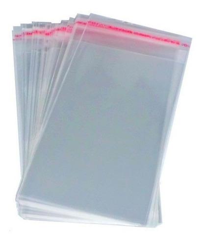 Saco Saquinho Adesivado 6x12 Para Películas Unhas 1000un