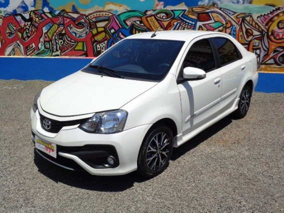 Etios Sedán 1.5 Platinum Sedan 16v Flex 4p Automático
