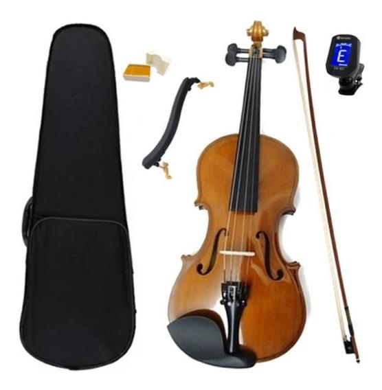 Violino Dominante 4/4 Especial Completo+ Espaleira+ Afinador