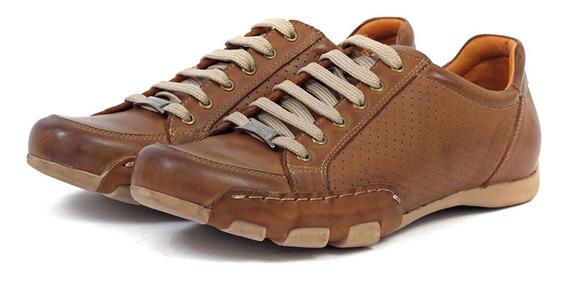 Zapatillas Mujer 6048 Cuero Franco Pasotti