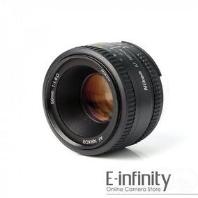 Nueva Nikon Nikkor Af 50mm F/1,8 D Lente