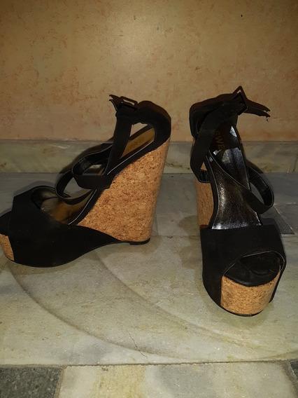 Zapatos Taco Corcho