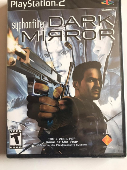 Syphon Filter Dark Mirror Original Lacrado Playstation 2