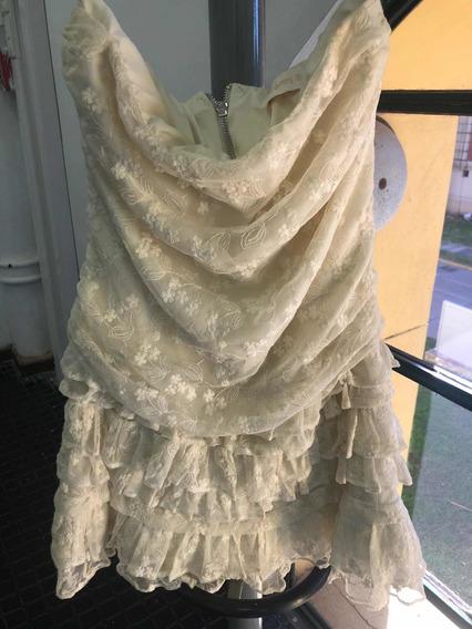 Vestido De Fiesta Salsipuedes Un Sueño Encaje Boho