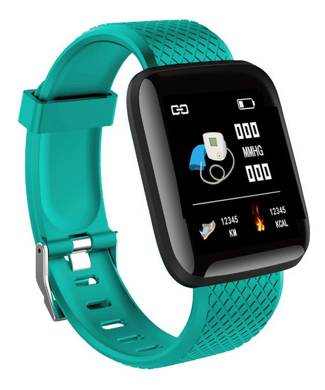 Smartband 116 Plus/d13 Ip67 Impermeable - Verde -60