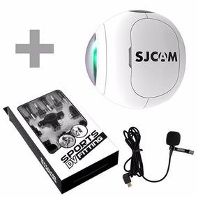 Camera Sjcam Sj360 0.83 360g+mic+fitb S Lacrado Na Caixa