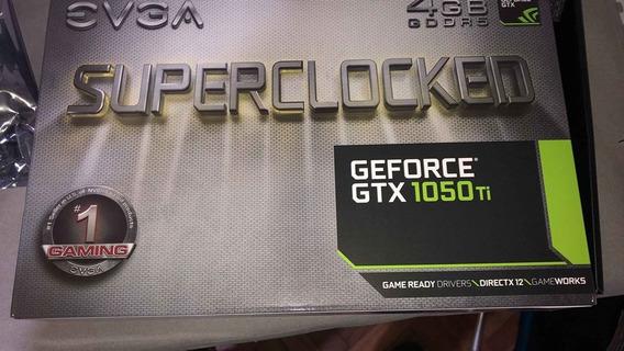 Placa De Video Geforce Gtx 1050ti 4gb Evga Sc Gddr5 Hdmi