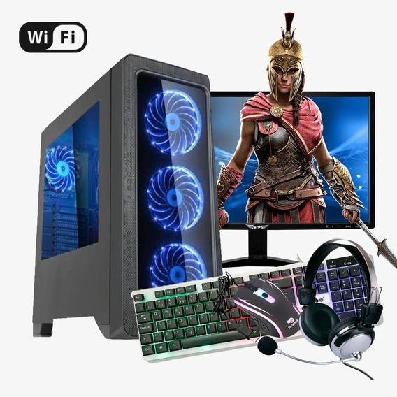 Pc Gamer Completo I7 4ª,16gb Ram Ddr3,hd 1tb,gtx 1050 Ti 4gb
