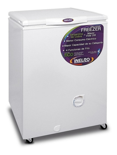 Freezer horizontal Inelro FIH-130 blanco 135L 220V