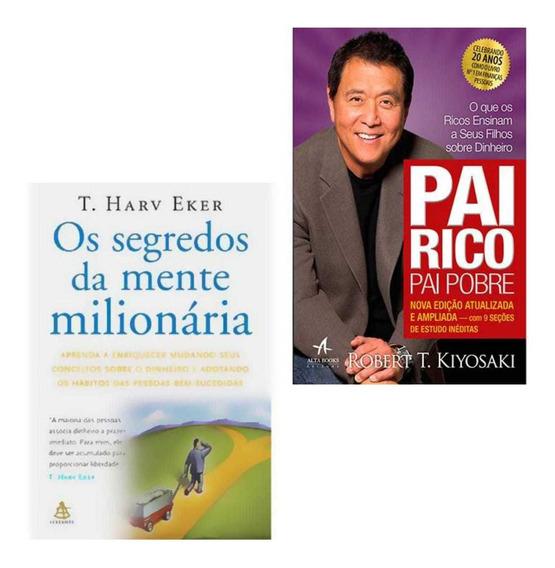 Livros - Pai Rico, Pai Pobre E Os Segredos Da Mente