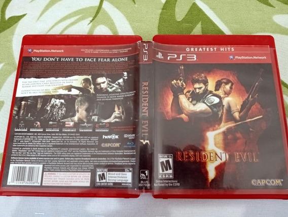 Resident Evil 5 Usado Play3 W12#