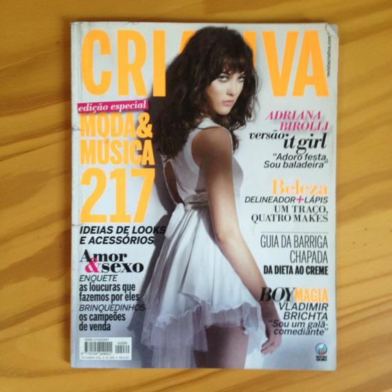Revista Criativa 269 Set2011 Adriana B. Vladimir Brichta Tx