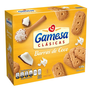 Galletas Gamesa Barras De Coco 845 G