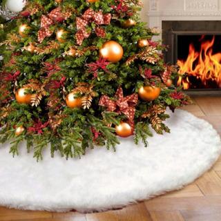 Falda Para Árbol De Navidad, Accesorio Lujo.