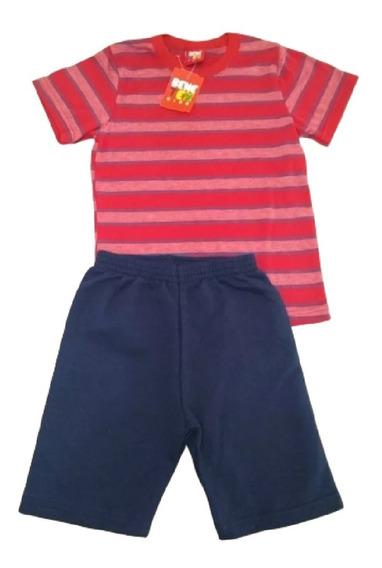 Kit Lote 10 Conjunto Infantil Masculino Roupa Menino Atacado