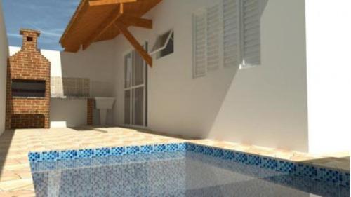 Imagem 1 de 14 de 5605   Casa Com Piscina E 2 Quartos Em Itanhaém.