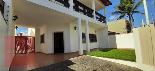 Sobrado Com 4 Dormitórios À Venda, 294 M² Por R$ 1.350.000,00 - Jardim Marilú - Itanhaém/sp - So0419